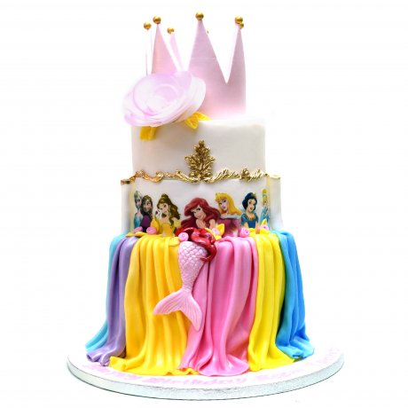 disney princesses cake 15 6