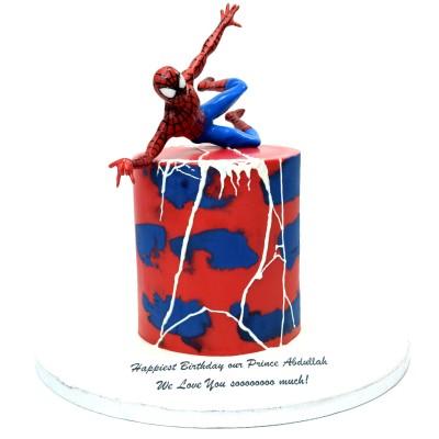 Spiderman Cake 33