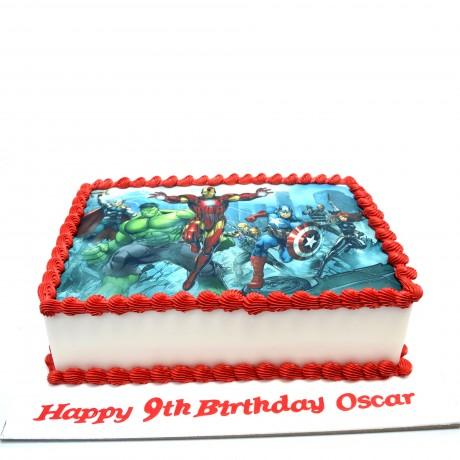 avengers cake 3 6