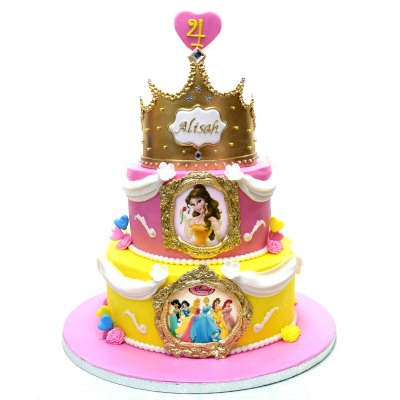 Disney Princesses cake 23