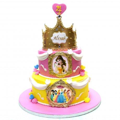 disney princesses cake 23 6