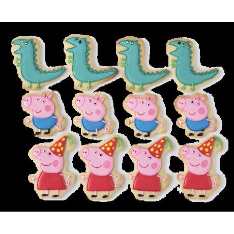 peppa pig cookies 1 12