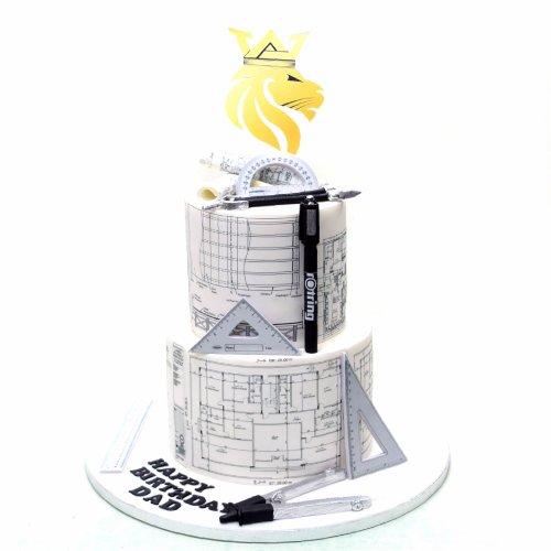 Architect Engineer Cake 1