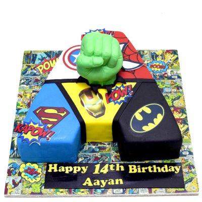 Superhero Avengers Cake 23