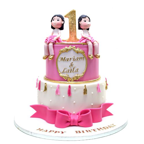 cake for twin girls 1 7