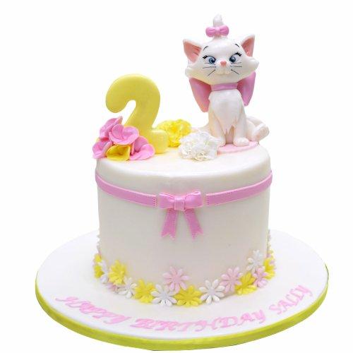 Cute cat cake 1