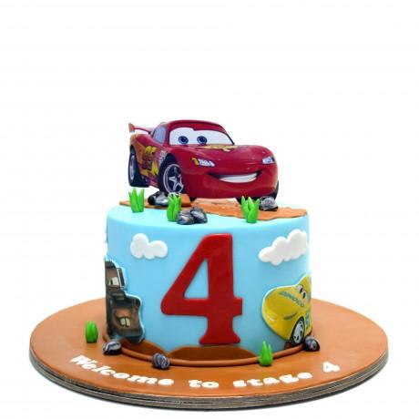 disney cars cake 4 12