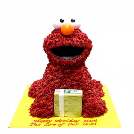 3d elmo cake 6