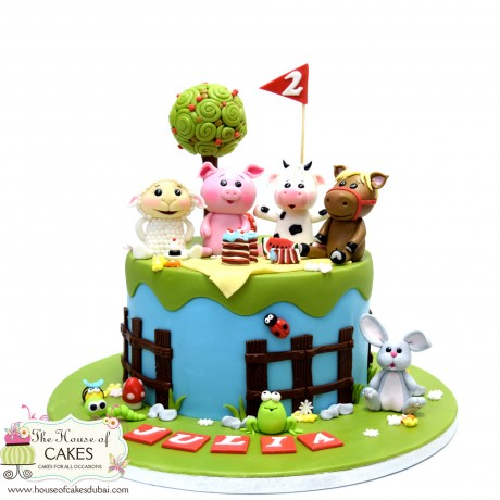 farm animals cake 15 6