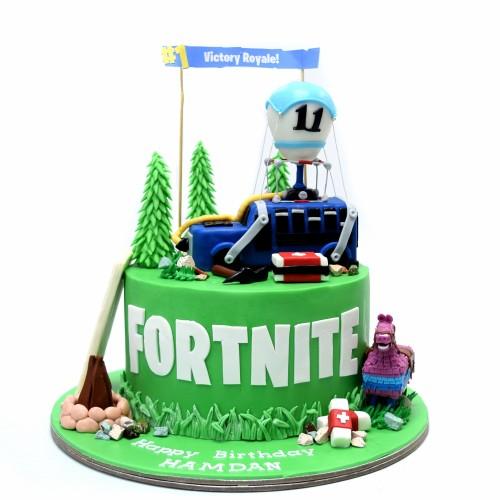 fortnite cake 6 7