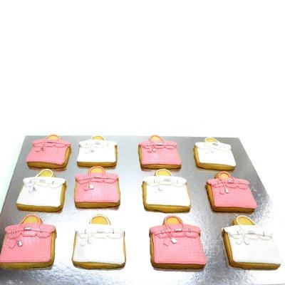 Hermes Birkin Bag Cookies