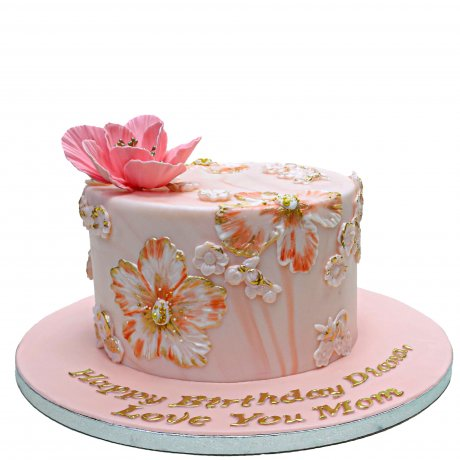 cake with icing flowers 6