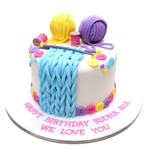 Knitting Cake 1