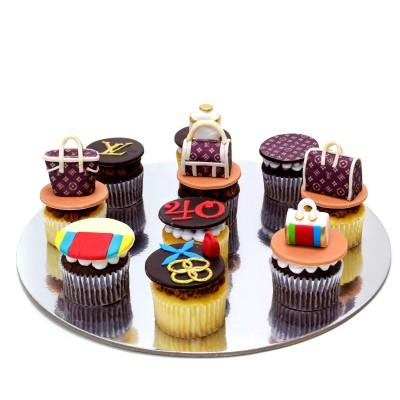 Cupcakes Louis Vuitton Bags and logos