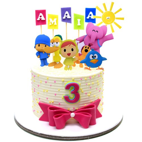 Pocoyo cake 4