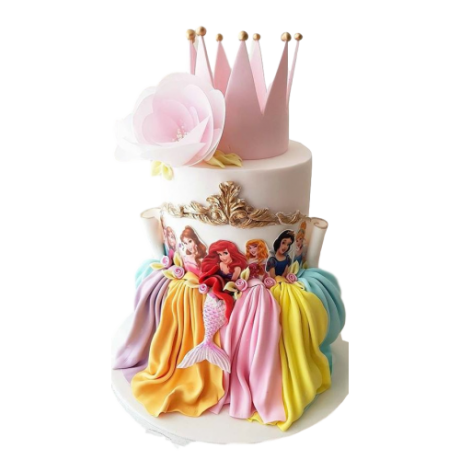 disney princesses cake 15 7