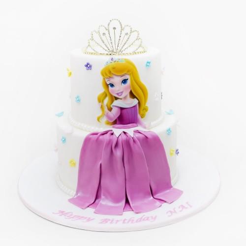 Princess Aurora Cake 1