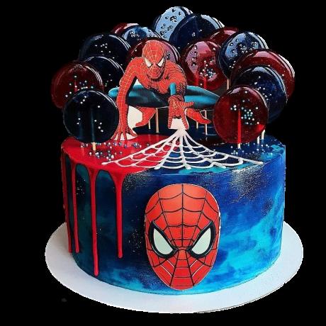 spiderman cake 20 6