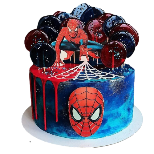 spiderman cake 20 7