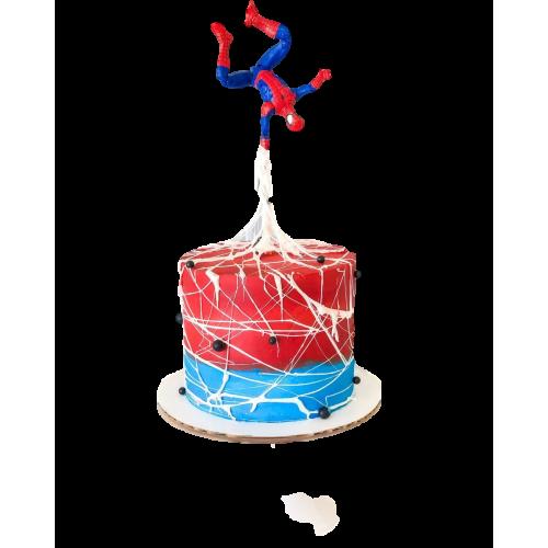 Spiderman cake 11