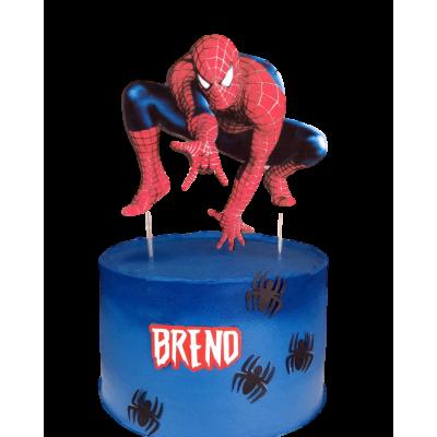 Spiderman cake 12
