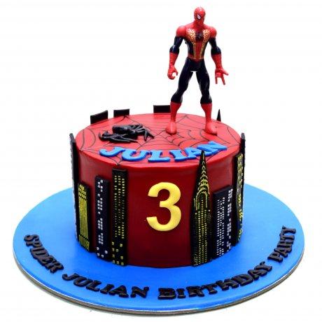 spiderman cake 21 6