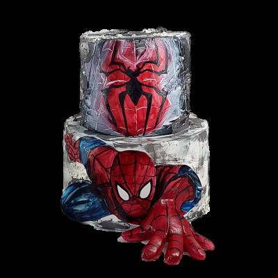Spiderman cake 23