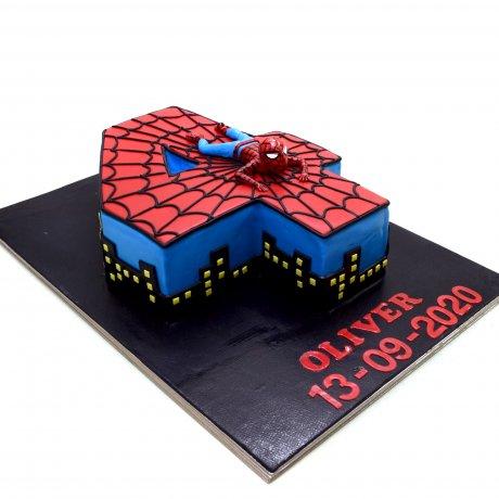 Spiderman Cake 32