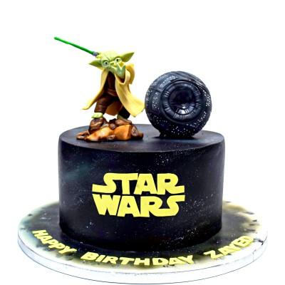 Star Wars cake 9