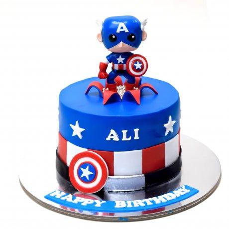 captain america cake 1 6