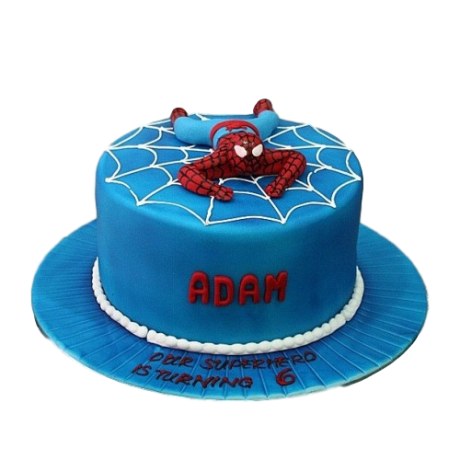 spiderman cake 16 6