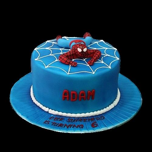 spiderman cake 16 7