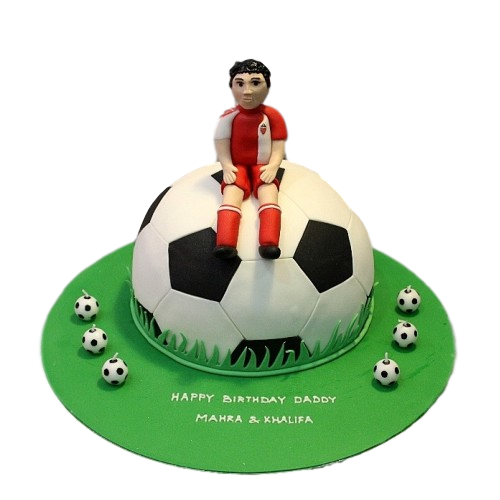 football cake 10 7