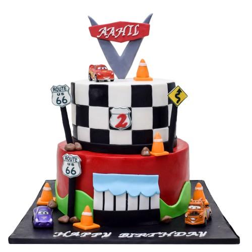 disney cars cake 10 7