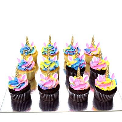 Unicorn cupcakes 3
