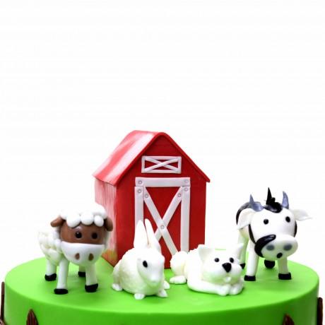 farm animals cake 10 7