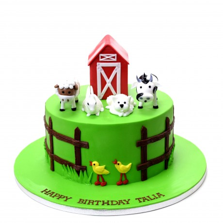 farm animals cake 10 6