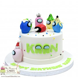 Among Us Cake 5