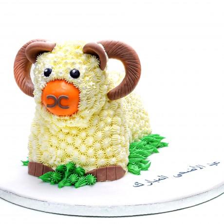 3d ram shaped cake 6