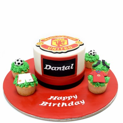 Manchester United cake 6