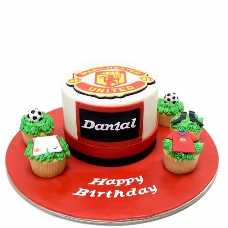 manchester united cake 6 6
