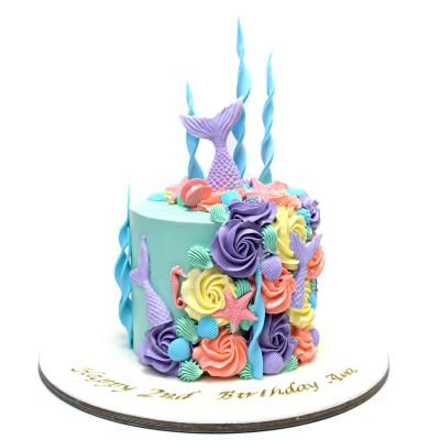 Mermaid Cake 31