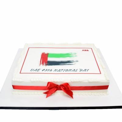 UAE National day cake 11