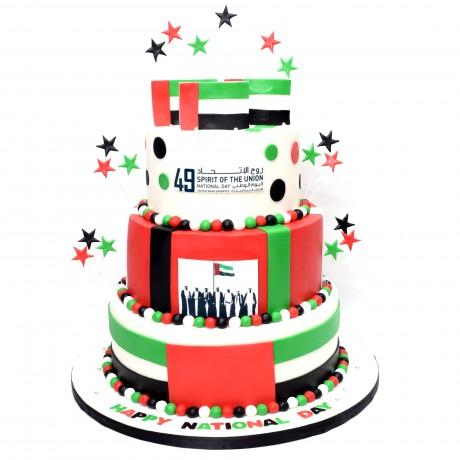uae national day cake 10 12