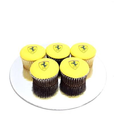 Ferrari Cupcakes