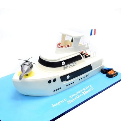 Yacht cake 3