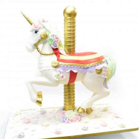 3d horse unicorn cake 7