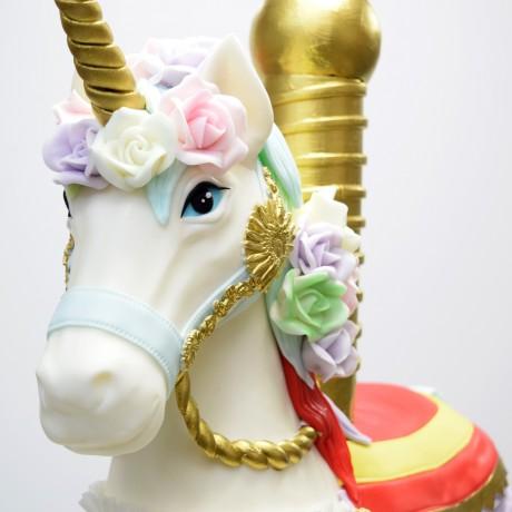 3d horse unicorn cake 8