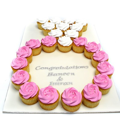 Engagement ring cupcakes 2