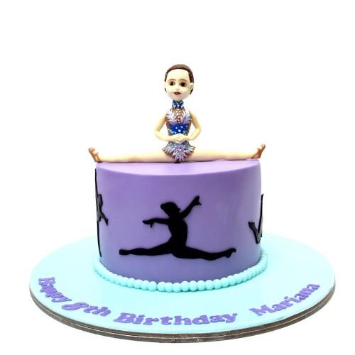 Gymnastics Cake 4